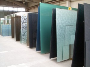 Lamina glass factory