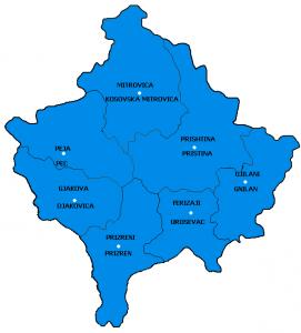 Comuni del Kosovo