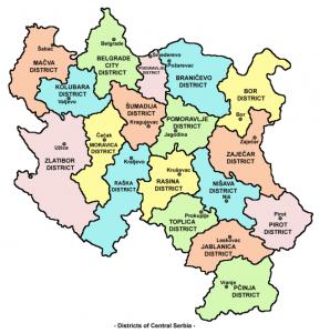 Serbia centrale
