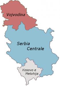 Regioni Serbia